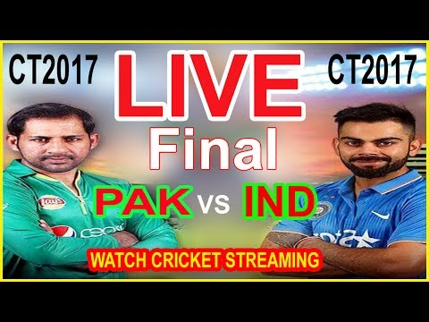 Live : INDIA vs PAKISTAN Live Streaming, ICC Champions Trophy  Final : CT 2017