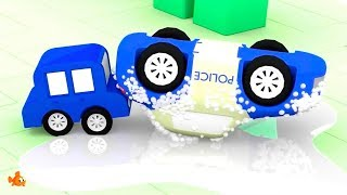 Cartoon Cars - CAR WASH COP! - Cartoons for Children - Videos for Kids Animation