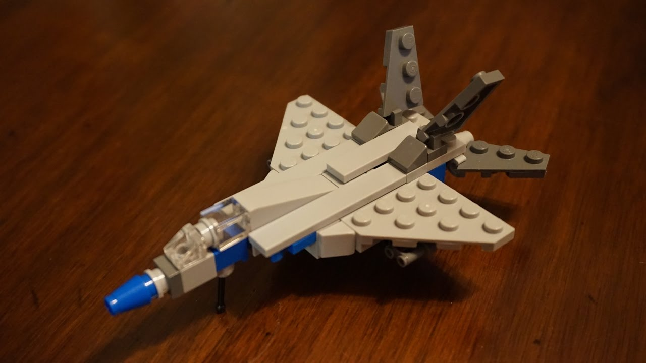 Micro Lego F 18 w  Retracting Gear    Build and How To   YouTube Micro Lego F 18 w  Retracting Gear    Build and How To