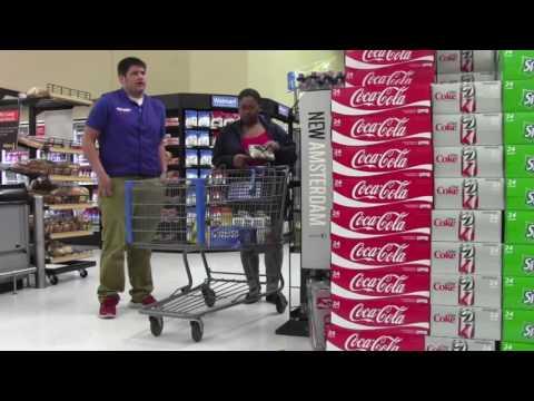 Fake WalMart Employee  Prank