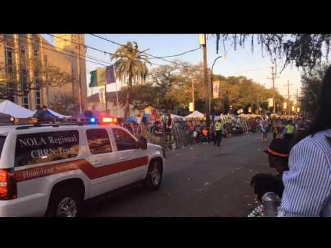 Mardi Gras ParadeCam 2017: Krewe of Bacchus