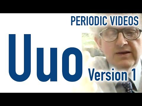 Video image: Ununoctium - Periodic Table of Videos