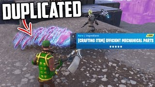 NEW Duplication Glitch on Fortnite Save The World?
