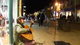 John Lennon _ Happy Xmas - Acoustic Cover - Danny McEvoy (Busking in Hove)