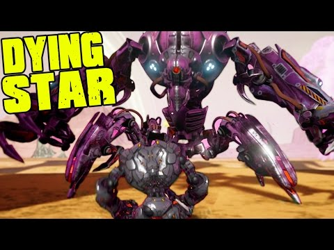 Dying Star - OPEN WORLD CLONE DRONE IN DANGER ZONE - (Dying Star Gameplay)
