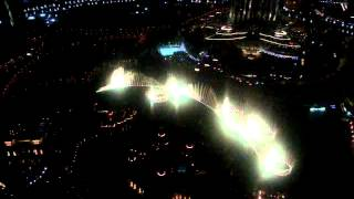Fountain vanuit de skybar!