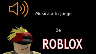 How to put Background Music to your Roblox Game
