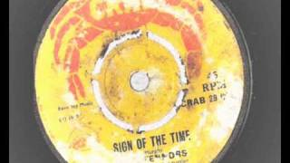 the tennors sign of the time crab records 29 pama reggae boss sounds