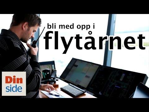 Inne i flytårnet på Oslo Lufthavn