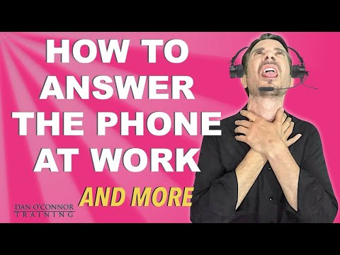 How to Answer the Phone at Work: What is a Professional Phon