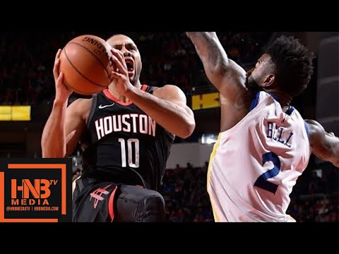 Golden State Warriors vs Houston Rockets 1st Half Highlights / Jan 4 / 2017-18 NBA Season