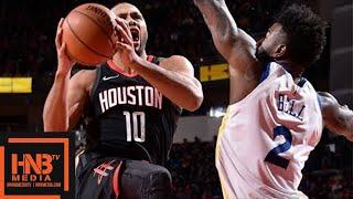 Golden State Warriors vs Houston Rockets 1st Half Highlights / Jan 4 / 2017-18 NBA Season