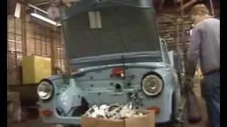 trabant, video z výroby