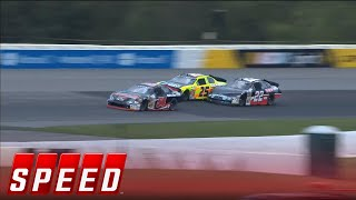 Multiple Car Wreck On Opening Lap at Pocono - 2015 ARCA Racing Series thumbnail
