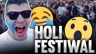 Kolorowy Ptyś na Holi Festival w Londynie!
