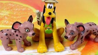 Przyjaciele na Safari #17 • Disney • Hiena Coco i Hiena Harriet • Encyklopedia zwierząt z zabawkami