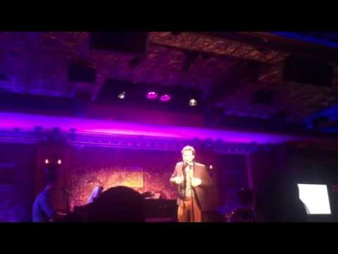 Ben Rappaport performing at TbtLIVE at Feinstein's 54 Below