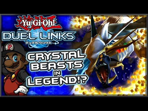 """Crystal Beasts in Legend!?"" Yugioh Duel Links w/ PKSparkxx (Online Ranked Duels)"