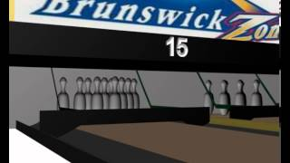 3D bowling alley