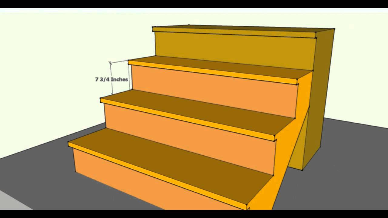 Stair treads and risers building code update 2012 - Interior stair treads and risers ...