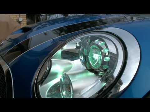 2008 Mini Cooper S Xenon Auto Level Headlights Youtube