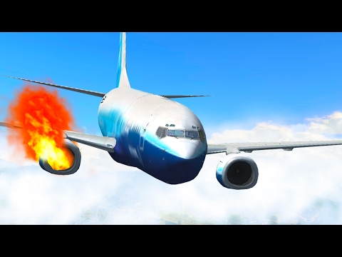 SCARY FLIGHT SIMULATOR GAME!