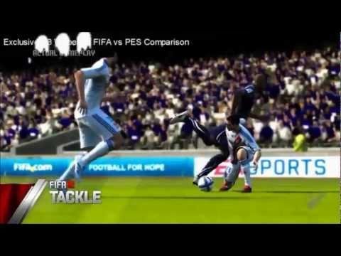 FIFA 12 vs PES 2012 || Comparison [HD]
