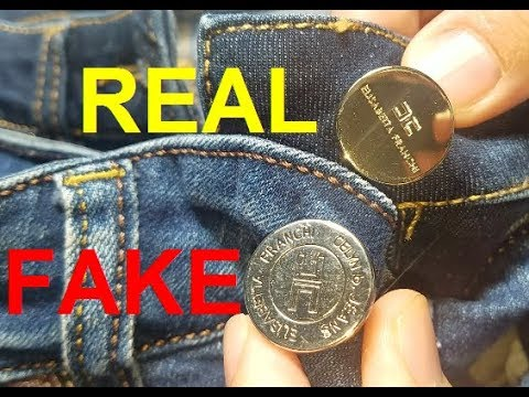 Real Vs Fake Elisabetta Franchi Jeans. How To Spot Fake Elisabetta Franchi