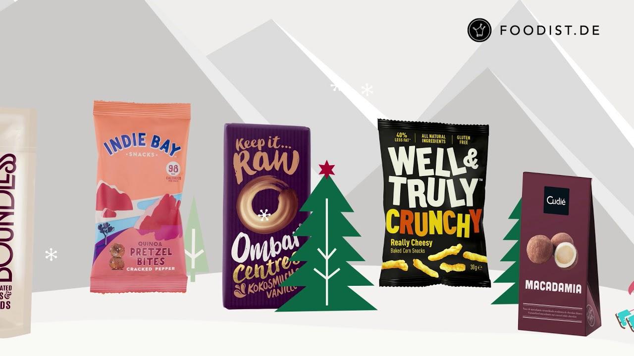 Foodist Weihnachtskalender.Foodist Adventskalender 2018 Was Steckt Drin