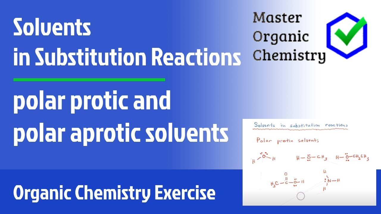 protic and aprotic solvents pdf