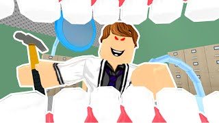 ROBlox / ESCAPE THE EVIL DENTIST! / AWESOME OBBY! / Corl Joue!