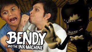 Download ESCAPAMOS DE BENDY CON MI PRIMO PEQUEÑO !! ¿¿QUIÉN GANA?? Mp3 and Videos