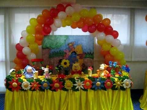 decorazioni compleanno winnie the pooh