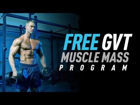 German Volume Training Free Muscle Mass Program