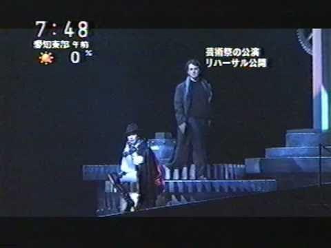 TV news : la prova generale d'Hoffmann a Nagoya.