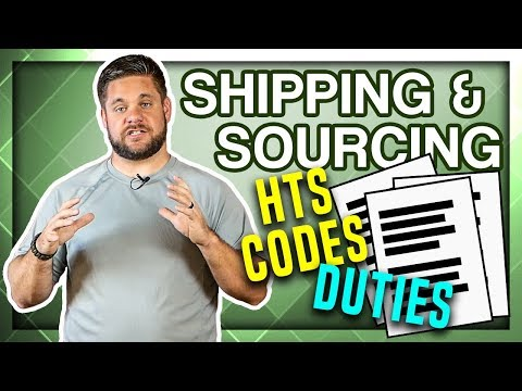 What Are HTS Codes And How Do They Affect Your Duty Rate For Importing?