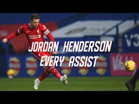 Every Jordan Henderson assist at Liverpool... so far!
