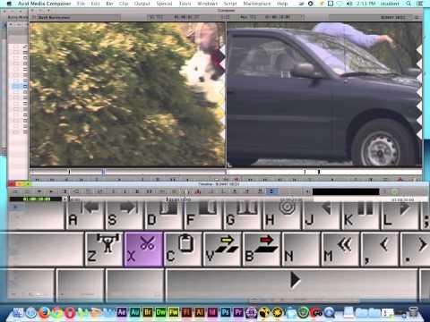 Avid Media Composer 7 Tutorial | Basic Editing | Extract Edit Function