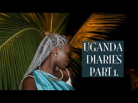 UGANDA DIARIES PART 1 | TRAVEL VLOG//LONG FLIGHT + SETTLING