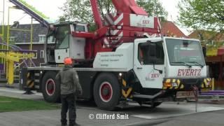 Kermis Haarlem 2017 Transport en opbouw  Zaanenlaan Deel 9