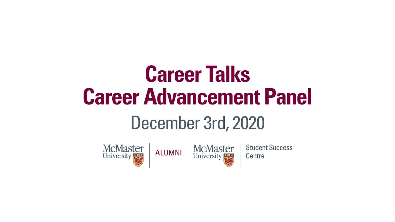 Image for Career Talk - Career Advancement Panel webinar