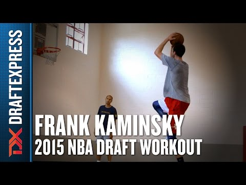Frank Kaminsky - Pre-Draft Workout & Interview - DraftExpress
