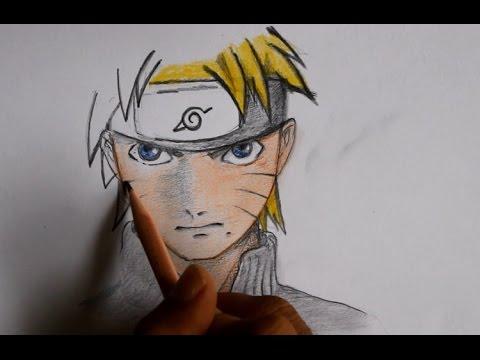 Cara Menggambar Manga Naruto Youtube