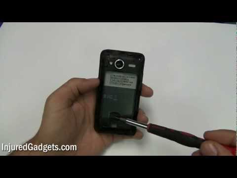 HTC Evo Shift 4G (HD 720p) Touch Screen Glass Digitizer & LCD Display Repair Replacement Guide