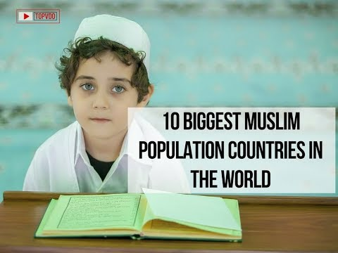 10 Biggest Muslim Population Countries in the World