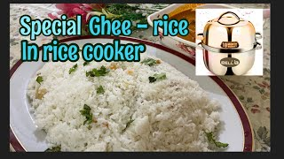 How to make gнee rice in rice cooker ? Do you want to save gas, then watch this video !!!