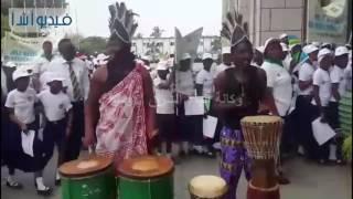 بالفيديو: مصر تشارك في الاحتفال الإقليمي