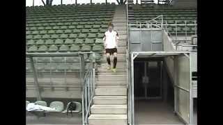 Тренировки из Германии по футболу  Упражнение №3