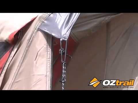 OZtrail Elite Villa Dome & OZtrail Elite Villa Dome - YouTube