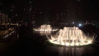 Поющий Фонтан Дубай The Dubai fountain New Year HD